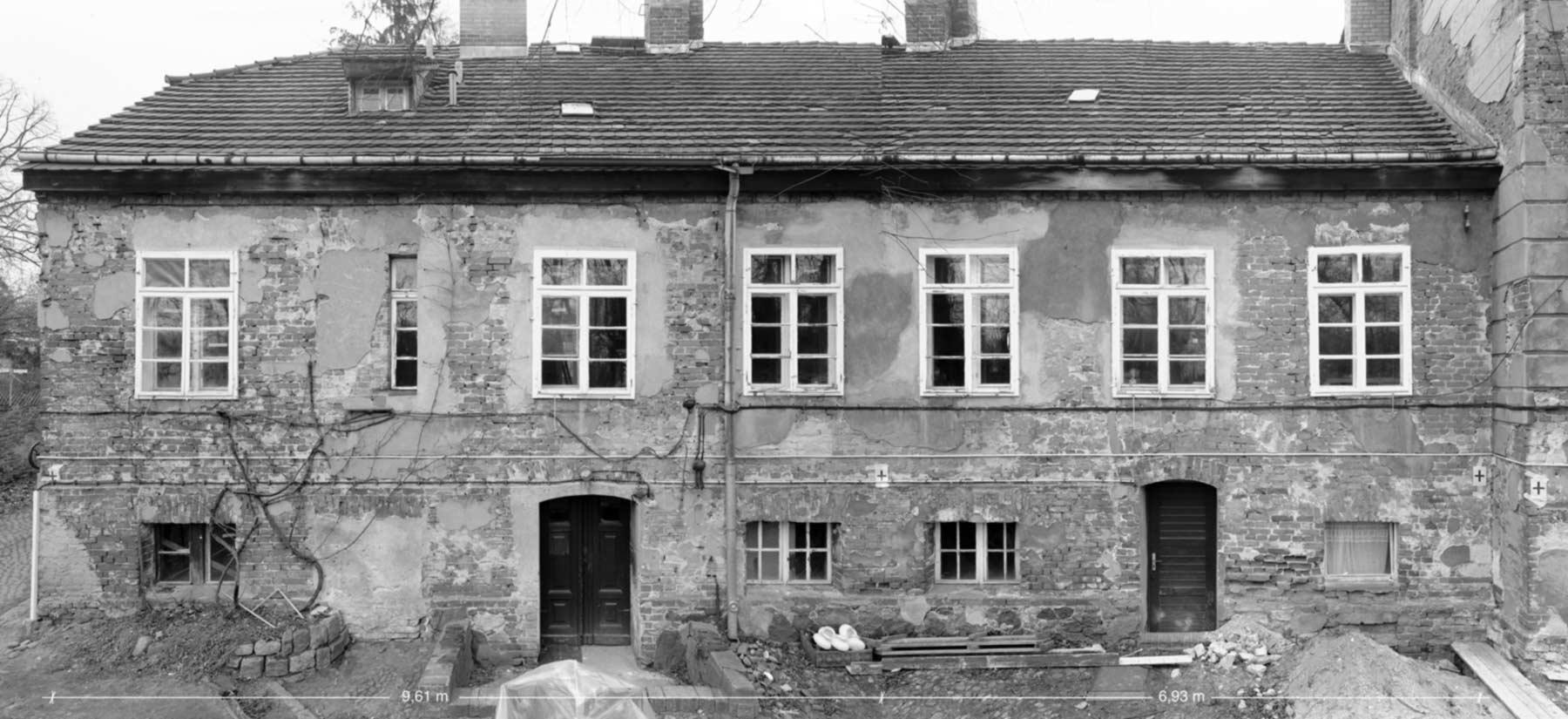 Südseite, Gutshaus-Falkenberg