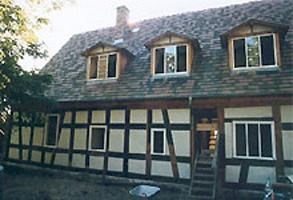 """ein Baudenkmal - das um die 3 Jahrhunderte alte Fachwerkhaus """"Gärtnerhaus Köpenick"""""""